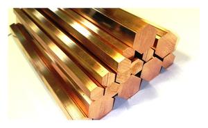 Шестигранник латунный 7мм ЛС59-1